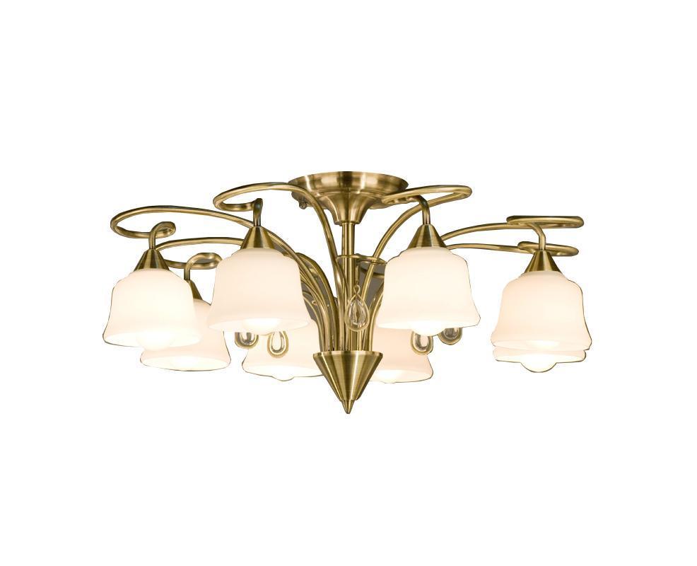 Люстра CitiluxЛюстры<br>Назначение светильника: для гостиной,<br>Стиль светильника: модерн,<br>Тип: потолочная,<br>Материал светильника: металл, стекло,<br>Материал плафона: стекло,<br>Материал арматуры: металл,<br>Длина (мм): 680,<br>Ширина: 680,<br>Диаметр: 680,<br>Высота: 330,<br>Количество ламп: 8,<br>Тип лампы: накаливания,<br>Мощность: 75,<br>Патрон: Е27,<br>Цвет арматуры: бронза<br>
