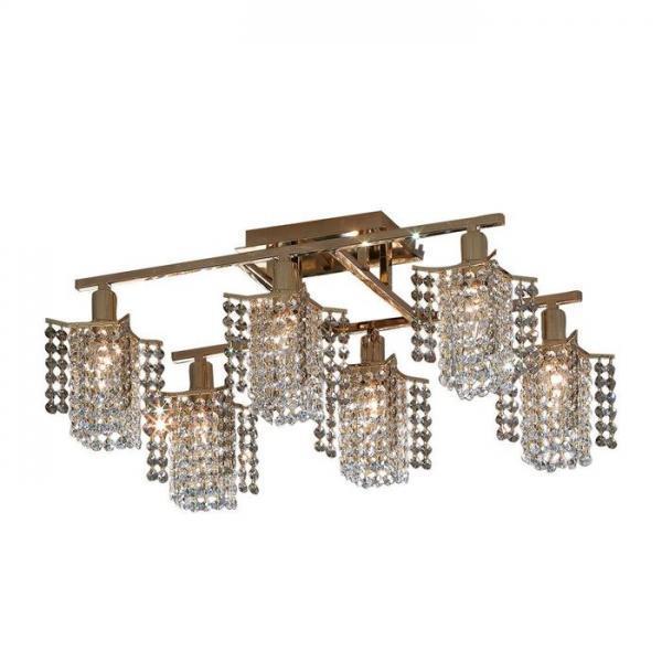Люстра CitiluxЛюстры<br>Назначение светильника: для гостиной, Стиль светильника: модерн, Тип: потолочная, Материал светильника: металл, хрусталь, Материал арматуры: металл, Длина (мм): 600, Ширина: 600, Диаметр: 380, Высота: 980, Количество ламп: 6, Тип лампы: накаливания, Мощность: 60, Патрон: Е14, Цвет арматуры: золото, Родина бренда: Дания<br>