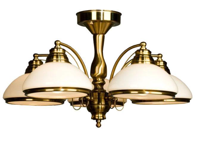 Люстра CitiluxЛюстры<br>Назначение светильника: для гостиной, Стиль светильника: классика, Тип: потолочная, Материал светильника: металл, стекло, Материал плафона: стекло, Материал арматуры: металл, Длина (мм): 620, Ширина: 620, Диаметр: 620, Высота: 330, Количество ламп: 5, Тип лампы: накаливания, Мощность: 75, Патрон: Е27, Цвет арматуры: золото, Родина бренда: Дания<br>