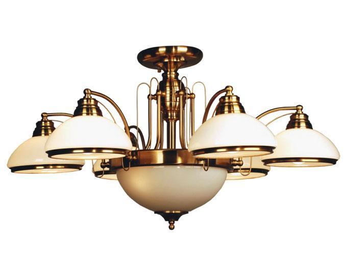 Люстра CitiluxЛюстры<br>Назначение светильника: для гостиной, Стиль светильника: классика, Тип: потолочная, Материал светильника: металл, стекло, Материал плафона: стекло, Материал арматуры: металл, Диаметр: 900, Высота: 460, Количество ламп: 8, Тип лампы: накаливания, Мощность: 75, Патрон: Е27, Цвет арматуры: золото, Родина бренда: Дания<br>