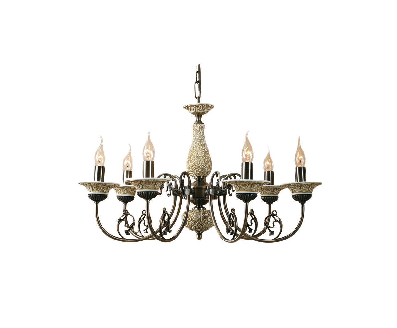 Люстра CitiluxЛюстры<br>Назначение светильника: для гостиной,<br>Стиль светильника: модерн,<br>Тип: подвесная,<br>Материал светильника: металл, керамика,<br>Материал арматуры: металл,<br>Диаметр: 710,<br>Высота: 1400,<br>Количество ламп: 7,<br>Тип лампы: накаливания,<br>Мощность: 60,<br>Патрон: Е14,<br>Цвет арматуры: бронза<br>