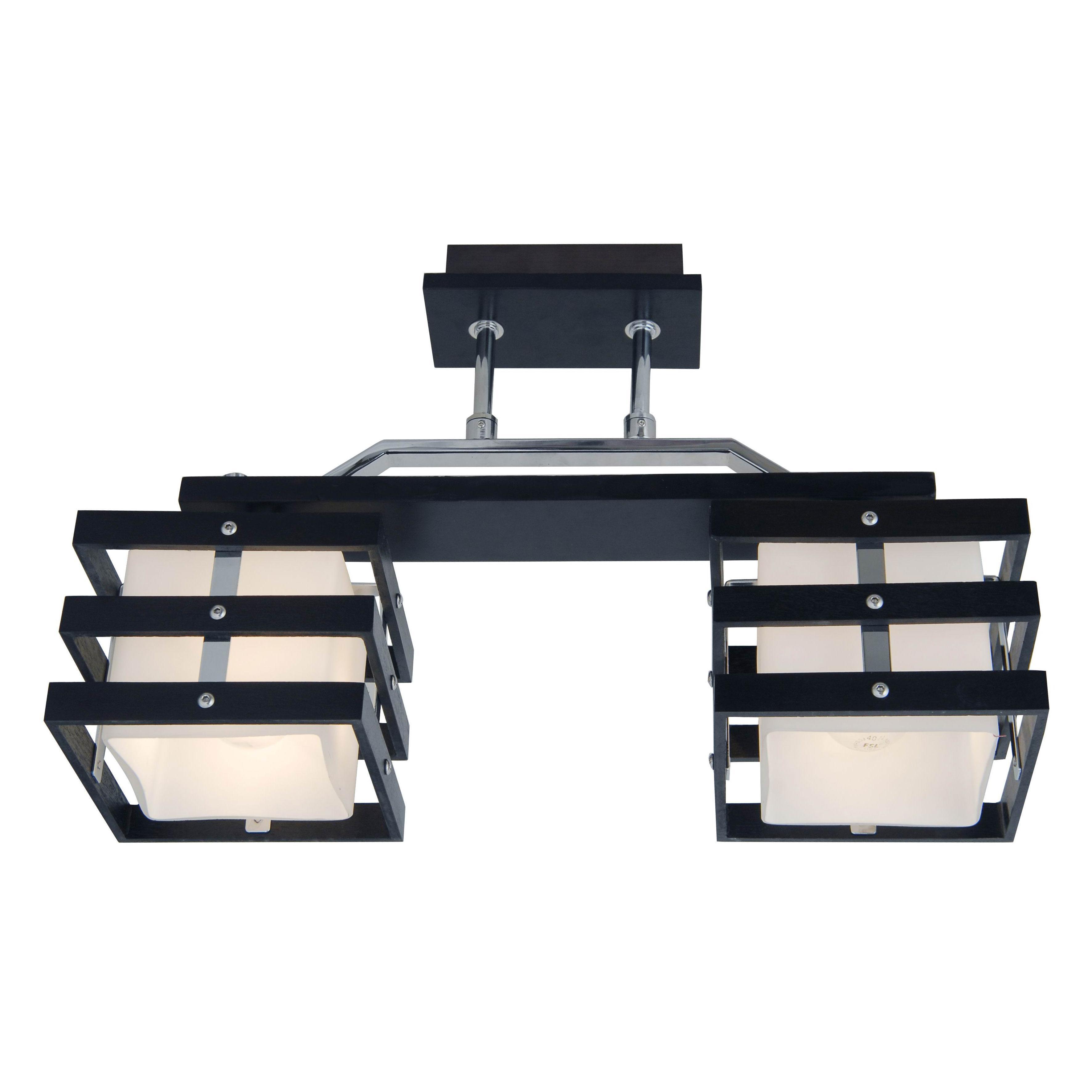 Светильник настенно-потолочный CitiluxСветильники настенно-потолочные<br>Мощность: 60,<br>Количество ламп: 2,<br>Назначение светильника: для комнаты,<br>Стиль светильника: современный,<br>Материал светильника: металл, дерево, стекло,<br>Тип лампы: накаливания,<br>Длина (мм): 430,<br>Ширина: 140,<br>Высота: 280,<br>Диаметр: 430,<br>Патрон: Е14,<br>Цвет арматуры: коричневый<br>