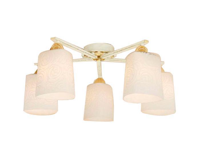 Светильник настенно-потолочный CitiluxСветильники настенно-потолочные<br>Мощность: 75,<br>Количество ламп: 5,<br>Назначение светильника: для комнаты,<br>Стиль светильника: модерн,<br>Материал светильника: стекло,<br>Тип лампы: накаливания,<br>Высота: 205,<br>Диаметр: 580,<br>Патрон: Е27,<br>Цвет арматуры: золото<br>