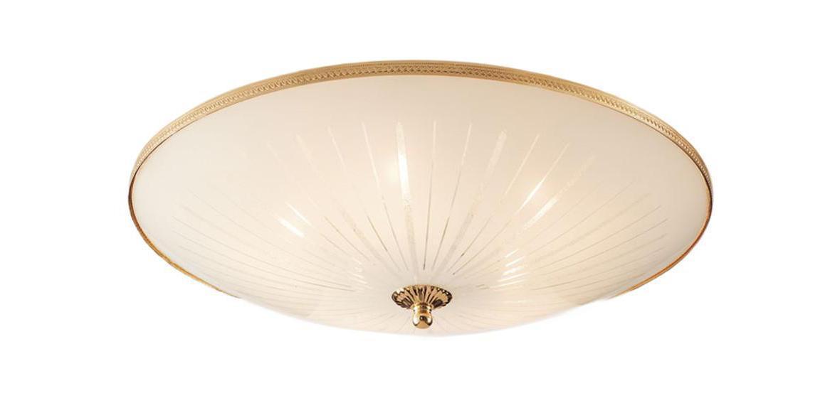 Светильник настенно-потолочный CitiluxСветильники настенно-потолочные<br>Мощность: 75,<br>Количество ламп: 5,<br>Назначение светильника: для комнаты,<br>Стиль светильника: классика,<br>Материал светильника: металл, стекло,<br>Тип лампы: накаливания,<br>Высота: 160,<br>Диаметр: 500,<br>Патрон: Е27,<br>Цвет арматуры: золото<br>