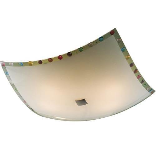 Светильник настенно-потолочный CitiluxСветильники настенно-потолочные<br>Мощность: 100,<br>Количество ламп: 4,<br>Назначение светильника: для комнаты,<br>Стиль светильника: модерн,<br>Материал светильника: металл, стекло,<br>Тип лампы: накаливания,<br>Длина (мм): 500,<br>Ширина: 500,<br>Высота: 130,<br>Диаметр: 500,<br>Патрон: Е27,<br>Цвет арматуры: белый<br>