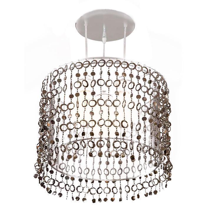 Светильник подвесной CitiluxЛюстры<br>Стиль светильника: модерн,<br>Материал светильника: металл, стекло,<br>Диаметр: 400,<br>Высота: 810,<br>Количество ламп: 3,<br>Тип лампы: накаливания,<br>Мощность: 60,<br>Патрон: Е27,<br>Цвет арматуры: серебристый<br>