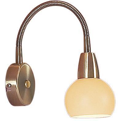 Спот CitiluxСпоты<br>Тип: спот,<br>Стиль светильника: современный,<br>Материал светильника: металл, стекло,<br>Количество ламп: 1,<br>Тип лампы: накаливания,<br>Мощность: 60,<br>Патрон: Е14,<br>Цвет арматуры: бронза,<br>Диаметр: 90,<br>Ширина: 90,<br>Длина (мм): 220,<br>Высота: 220<br>