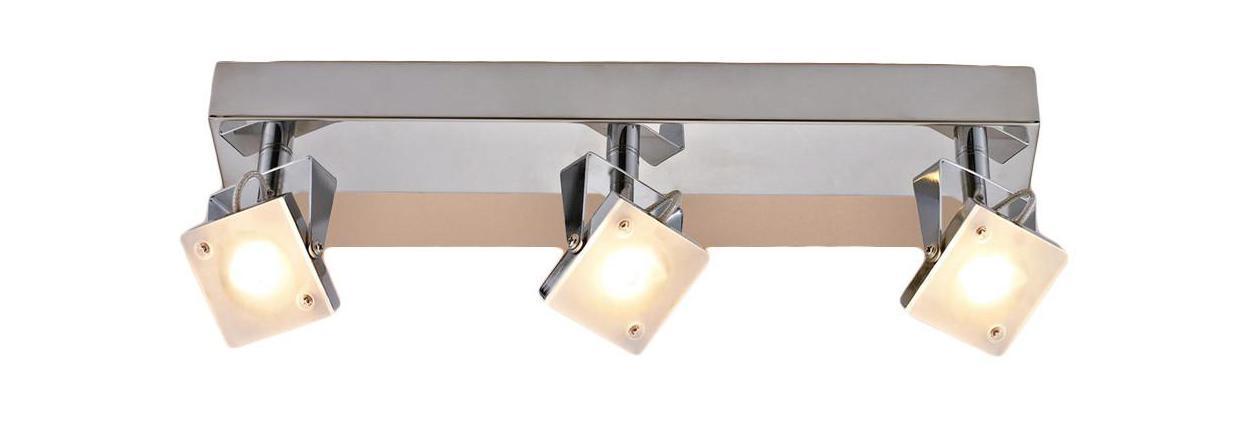 Спот CitiluxСпоты<br>Тип: спот, Стиль светильника: модерн, Материал светильника: металл, Количество ламп: 3, Тип лампы: светодиодная, Мощность: 5, Патрон: LED, Цвет арматуры: серебристый<br>