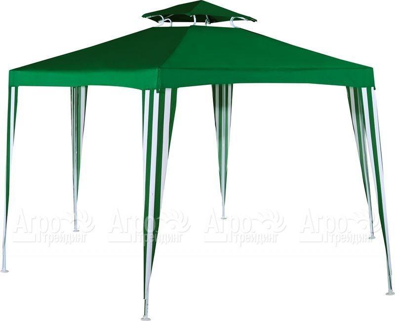 Тент Green gladeШатры и тенты<br>Размеры: 2000х2000х2000х2600,<br>Материал: полиэстер<br>