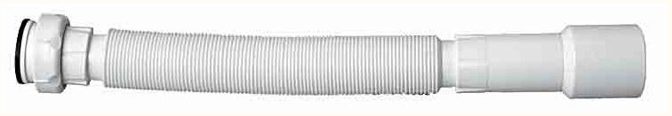 Гибкая труба CrearplastКомплектующие для сантехники (сифоны, выпуски, трапы)<br>Тип: отвод,<br>Назначение: для сифона,<br>Диаметр: 40<br>