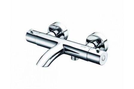 Смеситель для ванны WasserkraftСмесители<br>Назначение смесителя: для ванны,<br>Наличие термостата: есть,<br>Тип управления смесителя: однорычажный,<br>Цвет покрытия: хром,<br>Стиль смесителя: модерн,<br>Монтаж смесителя: вертикальный,<br>Тип установки смесителя: настенный,<br>Материал смесителя: латунь,<br>Излив: короткий,<br>Аэратор: есть,<br>Родина бренда: Германия<br>