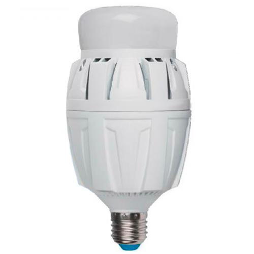 Лампа светодиодная UnielЛампы<br>Тип лампы: светодиодная,<br>Форма лампы: цилиндрическая,<br>Цвет колбы: матовая,<br>Тип цоколя: Е27,<br>Напряжение: 220,<br>Мощность: 50,<br>Цветовая температура: 4000,<br>Цвет свечения: холодный<br>