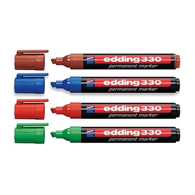 Маркер EddingРазметочный инструмент<br>Тип: маркеры,<br>Цвет: черный<br>