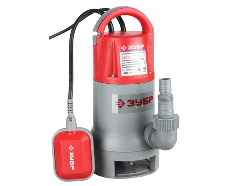 Насос ЗУБРНасосы<br>Тип насоса: погружной,<br>Конструкция насоса: дренажный,<br>Центробежный: есть,<br>Назначение по воде: чистая вода,<br>Макс. производительность по воде: 12000,<br>Мощность: 550,<br>Эжектор: нет,<br>Материал корпуса: пластик,<br>Вес нетто: 5.5<br>