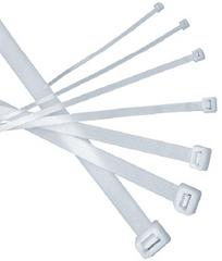 Хомут ТДМАксессуары для электромонтажа<br>Тип аксессуара: хомут,<br>Степень защиты от пыли и влаги: IP 20,<br>Цвет: белый<br>