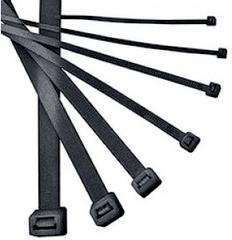 Хомут ТДМАксессуары для электромонтажа<br>Тип аксессуара: хомут,<br>Степень защиты от пыли и влаги: IP 20,<br>Цвет: черный<br>