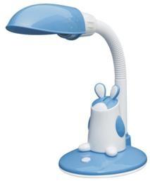 Лампа настольная ТДМДетские светильники<br>Тип: настольный, Форма/декор детского светильника: другое, Цвет детского светильника: голубой, Материал светильника: пластик, Количество ламп: 1, Мощность: 11, Тип лампы: энергосберегающая, Патрон: Е27<br>