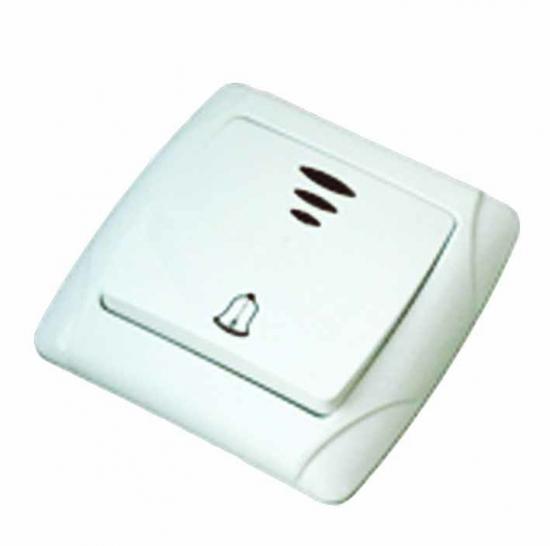 Кнопка ТДМЗвонки<br>Тип: кнопка, Тип звонка: проводной, Цвет: белый, Источники питания: сеть 220v, Степень защиты от пыли и влаги: IP 54<br>
