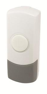 Кнопка ТДМЗвонки<br>Тип: кнопка,<br>Тип звонка: беспроводной,<br>Цвет: белый,<br>Источники питания: MN21,<br>Степень защиты от пыли и влаги: IP 44,<br>Количество каналов: 1<br>