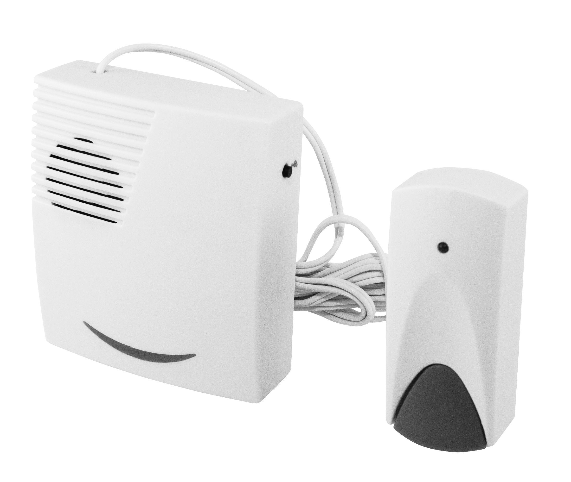 Звонок ТДМЗвонки<br>Тип: звонок, Тип звонка: проводной, Количество мелодий: 25, Цвет: белый, Источники питания: сеть 220v, Степень защиты от пыли и влаги: IP 30, Количество каналов: 1<br>
