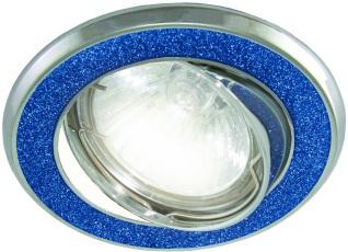 Светильник встраиваемый ТДМСветильники встраиваемые<br>Стиль светильника: модерн, Форма светильника: круг, Материал светильника: металл, Количество ламп: 1, Тип лампы: светодиодная, Мощность: 50, Патрон: G5.3, Цвет арматуры: цветной<br>