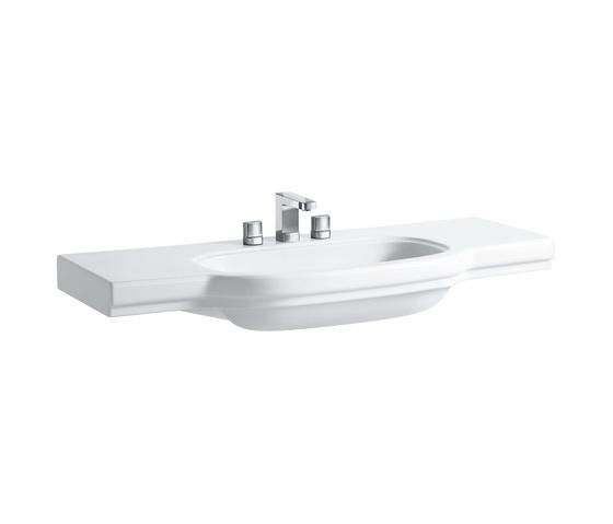 Раковина накладная LaufenРаковины (умывальники)<br>Тип: раковина,<br>Назначение умывальника(раковины): для ванной,<br>Ширина: 1250,<br>Глубина: 170,<br>Форма раковины: прямоугольная,<br>Цвет: белый,<br>Отверстие под смеситель: нет,<br>Материал: керамика,<br>Тип установки раковины: накладной,<br>Раковина-столешница: есть,<br>Коллекция: lb3<br>