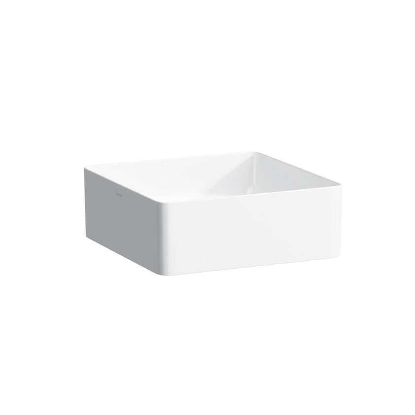 Раковина LaufenРаковины (умывальники)<br>Тип: раковина,<br>Назначение умывальника(раковины): для ванной,<br>Форма раковины: квадратная,<br>Цвет: белый,<br>Отверстие под смеситель: нет,<br>Материал: керамика,<br>Тип установки раковины: подвесной<br>