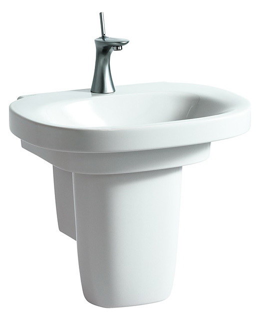 Раковина LaufenРаковины (умывальники)<br>Тип: раковина,<br>Назначение умывальника(раковины): для ванной,<br>Ширина: 600,<br>Глубина: 440,<br>Форма раковины: овальная,<br>Цвет: белый,<br>Отверстие под смеситель: нет,<br>Материал: керамика,<br>Тип установки раковины: подвесной<br>