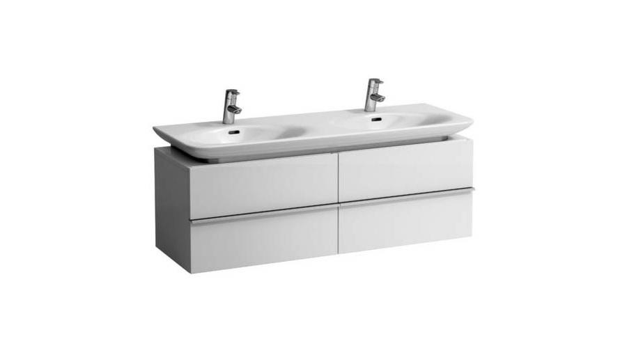 Раковина LaufenРаковины (умывальники)<br>Тип: раковина,<br>Назначение умывальника(раковины): для ванной,<br>Ширина: 1300,<br>Глубина: 440,<br>Форма раковины: прямоугольная,<br>Цвет: белый,<br>Отверстие под смеситель: нет,<br>Материал: керамика,<br>Тип установки раковины: подвесной<br>