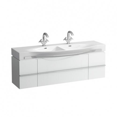 Раковина LaufenРаковины (умывальники)<br>Тип: раковина, Назначение умывальника(раковины): для ванной, Ширина: 1500, Глубина: 440, Форма раковины: полукруглая, Цвет: белый, Отверстие под смеситель: нет, Материал: керамика, Тип установки раковины: подвесной, Коллекция: palace<br>