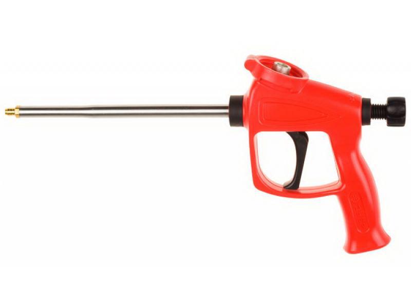 Пистолет для монтажной пены ЗУБРПистолеты для монтажной пены и герметика<br>Тип: для монтажной пены<br>