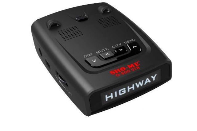 Антирадар (радар-детектор) Sho-me G800 red str