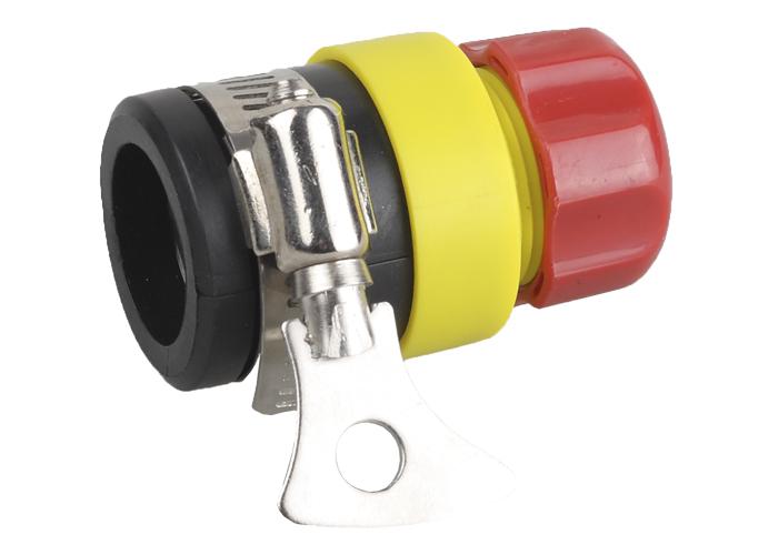 Соединитель GrindaСоединительные элементы и фильтры<br>Тип элемента: коннектор, Диаметр на выходе (в дюймах): 1/2, Материал: пластик<br>