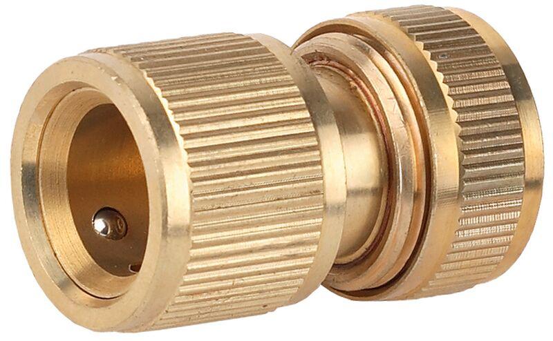 Соединитель GrindaСоединительные элементы и фильтры<br>Тип элемента: коннектор,<br>Диаметр на выходе (в дюймах): 3/4,<br>Материал: латунь,<br>Вес нетто: 0.1<br>