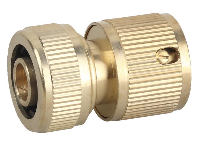 Соединитель GrindaСоединительные элементы и фильтры<br>Тип элемента: коннектор, Диаметр на выходе (в дюймах): 1/2, Материал: латунь, Вес нетто: 0.1<br>