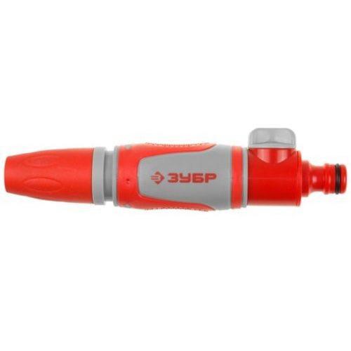 Наконечник ЗУБРПистолеты для шлангов и распылители<br>Тип: наконечник-распылитель,<br>Материал: пластик,<br>Регулируемый: есть,<br>Вес нетто: 0.1<br>