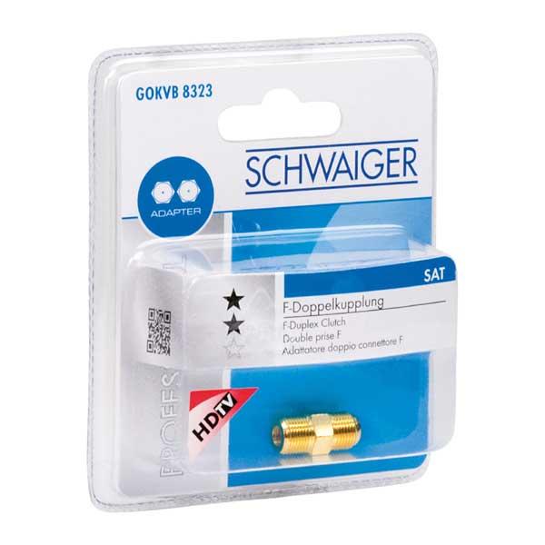 F-адаптер SchwaigerРазъемы, адаптеры<br>Тип: f-адаптер,<br>Тип соединения: F-jack/F-jack,<br>Назначение: видео,<br>Вес нетто: 0.012<br>