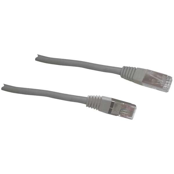 Кабель SchwaigerКабели и антенны<br>Тип разъемов: RJ45, Тип соединения: Plug/Plug, Длина кабеля: 15, Волновое сопротивление: 75, Количество разъемов: 2, Цвет: серый, Вес нетто: 0.358<br>