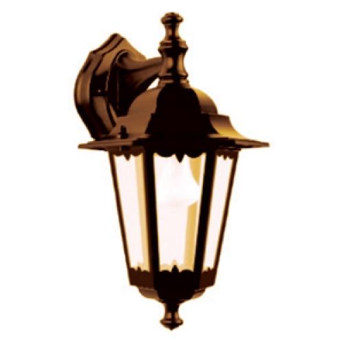 Светильник уличный ТДМСветильники уличные<br>Мощность: 100, Тип установки: настенный, Стиль светильника: античный, Количество ламп: 1, Патрон: Е27, Цвет арматуры: бронза<br>