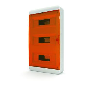 Бокс TekforЩиты электрические, боксы<br>Тип: бокс,<br>Тип установки: навесной,<br>Материал: пластик,<br>Степень защиты от пыли и влаги: IP 40,<br>Использование: в помещении,<br>Высота: 535,<br>Ширина: 290,<br>Глубина: 102,<br>Окно: есть,<br>Клеммник: есть,<br>DIN рейка: три,<br>Количество модулей: 36<br>