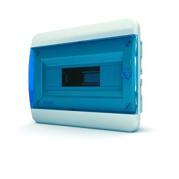 Бокс TekforЩиты электрические, боксы<br>Тип: бокс,<br>Тип установки: встраиваемый,<br>Материал: пластик,<br>Степень защиты от пыли и влаги: IP 40,<br>Использование: в помещении,<br>Высота: 240,<br>Ширина: 290,<br>Глубина: 102,<br>Глубина встраиваемая: 64,<br>Окно: есть,<br>Клеммник: есть,<br>DIN рейка: одна,<br>Количество модулей: 12<br>