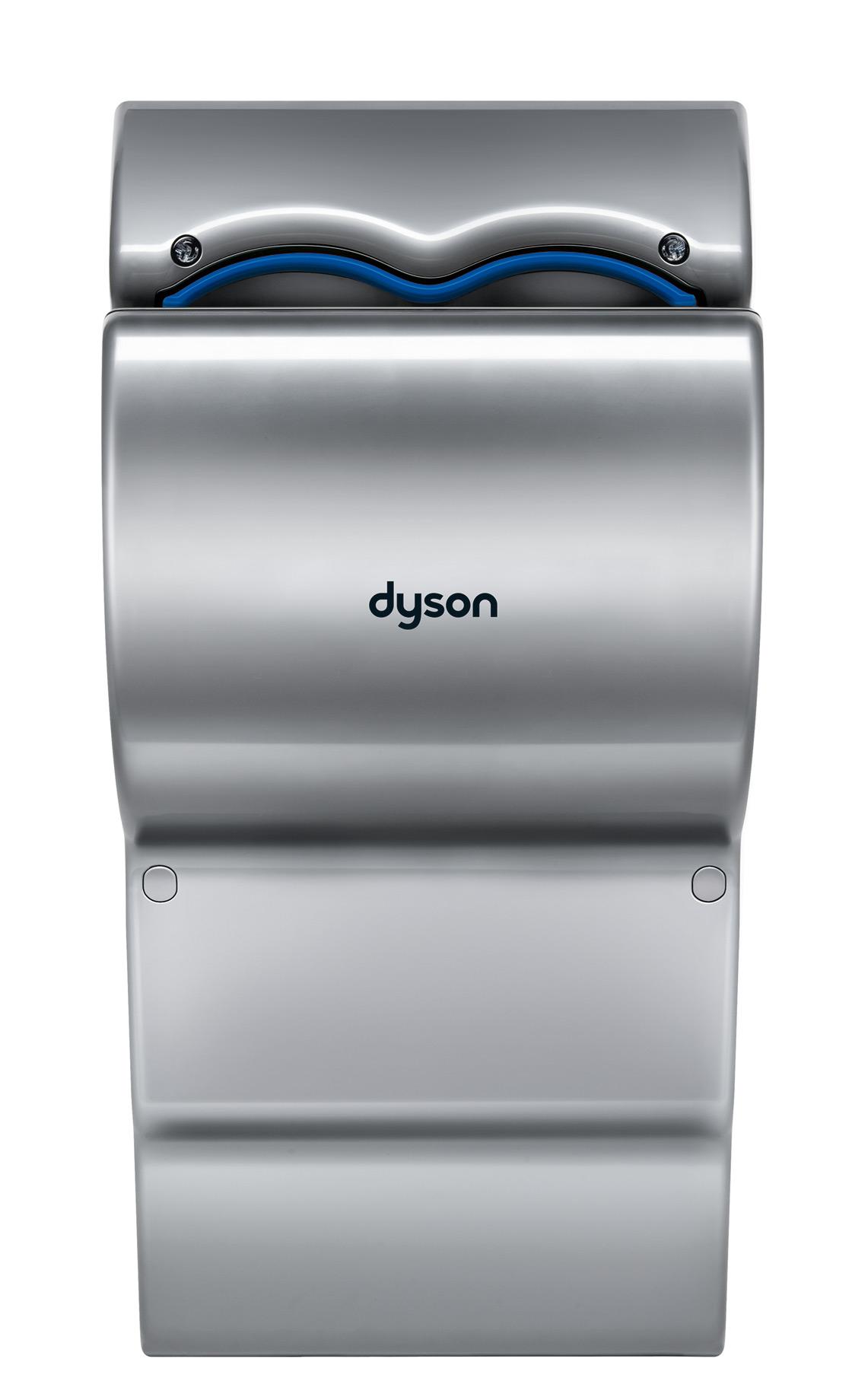 Сушилка для рук DysonСушилки для рук<br>Мощность: 1600,<br>Автоматическое включение/выключение: есть,<br>Антивандальная защита: есть,<br>Скорость потока воздуха: 192,<br>Глубина: 247,<br>Ширина: 303,<br>Высота: 661<br>