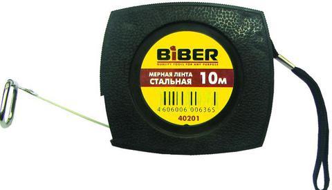 Лента мерная BiberРулетки<br>Длина (м): 10,<br>Тип рулетки: лента мерная<br>