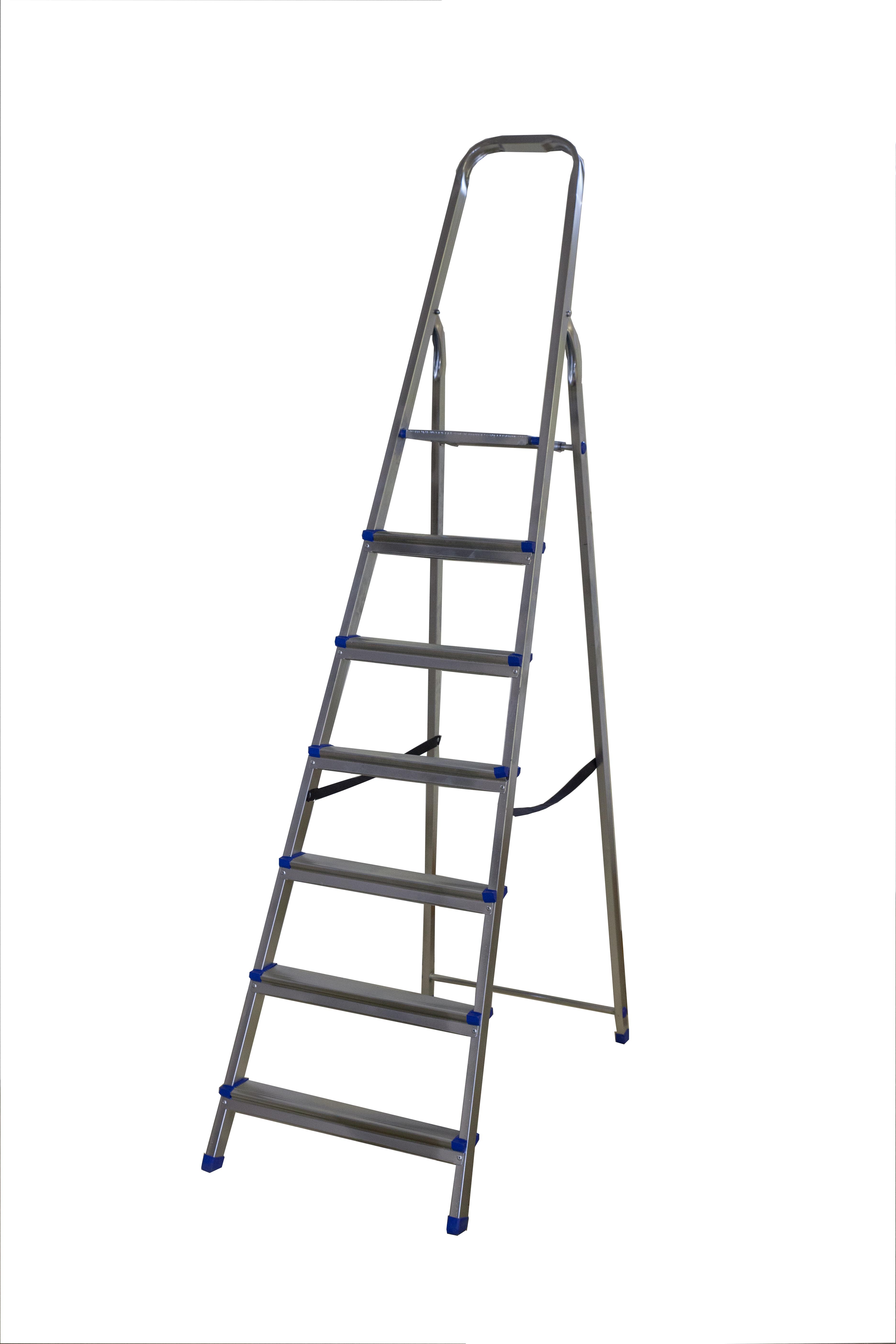 Стремянка стальная BiberЛестницы, стремянки и вышки<br>Макс. высота: 1.51,<br>Рабочая высота: 3.65,<br>Тип: стремянка,<br>Материал: сталь,<br>Количество секций: 1,<br>Количество ступеней: 7,<br>Количество ступеней в секции: 7<br>