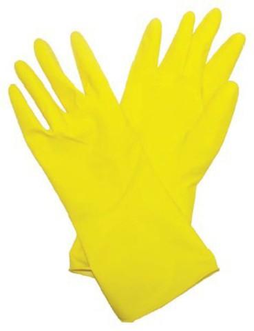 Перчатки латексные BiberПерчатки и рукавицы<br>Тип: перчатки,<br>Тип перчаток: латексные,<br>Пол: унисекс,<br>Размер: M,<br>Цвет: желтый<br>