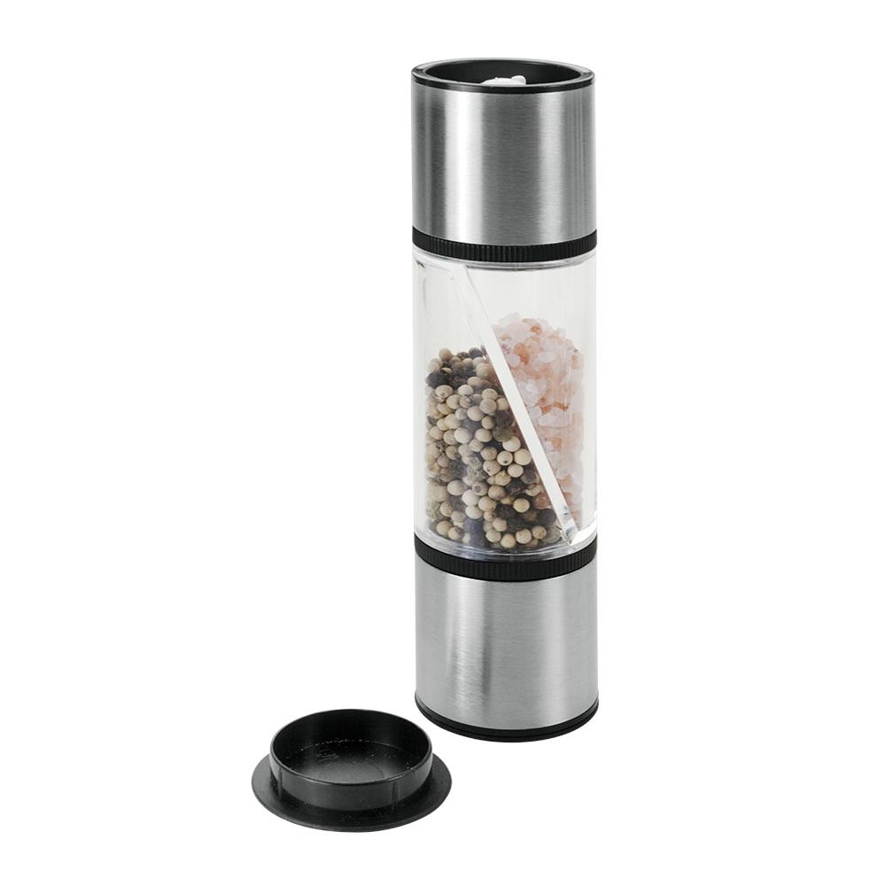 Мельница для соли MetaltexАксессуары кухонные<br>Тип: мельница,<br>Материал: нерж.сталь/пластик,<br>Длина (мм): 200<br>