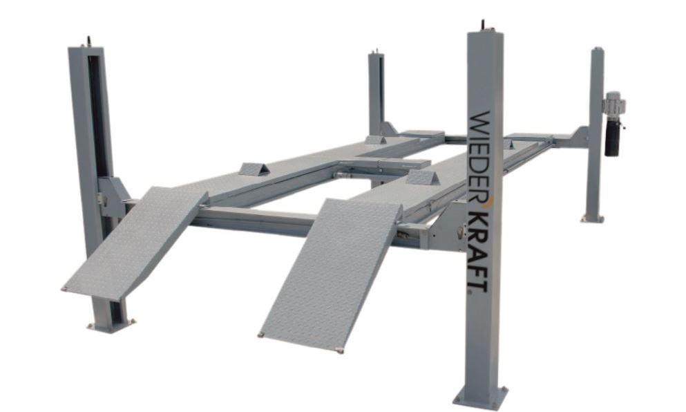 Подъемник WiederkraftСтойки и подъемники<br>Максимальная нагрузка: 4500,<br>Высота подъёма: 1750,<br>Высота подхвата: 245,<br>Тип: подъемник<br>