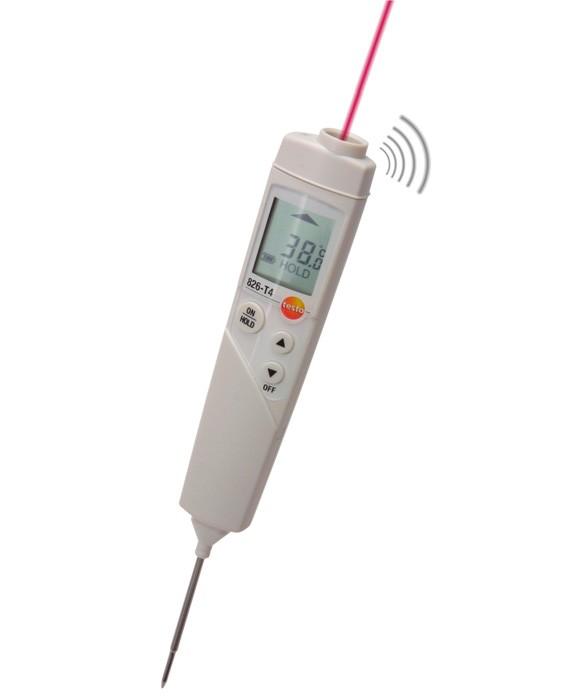 Термометр TestoТермометры<br>Размеры: 148x34.4x19, Источники питания: AAA, Мин. температура: -30, Макс. температура: +300<br>