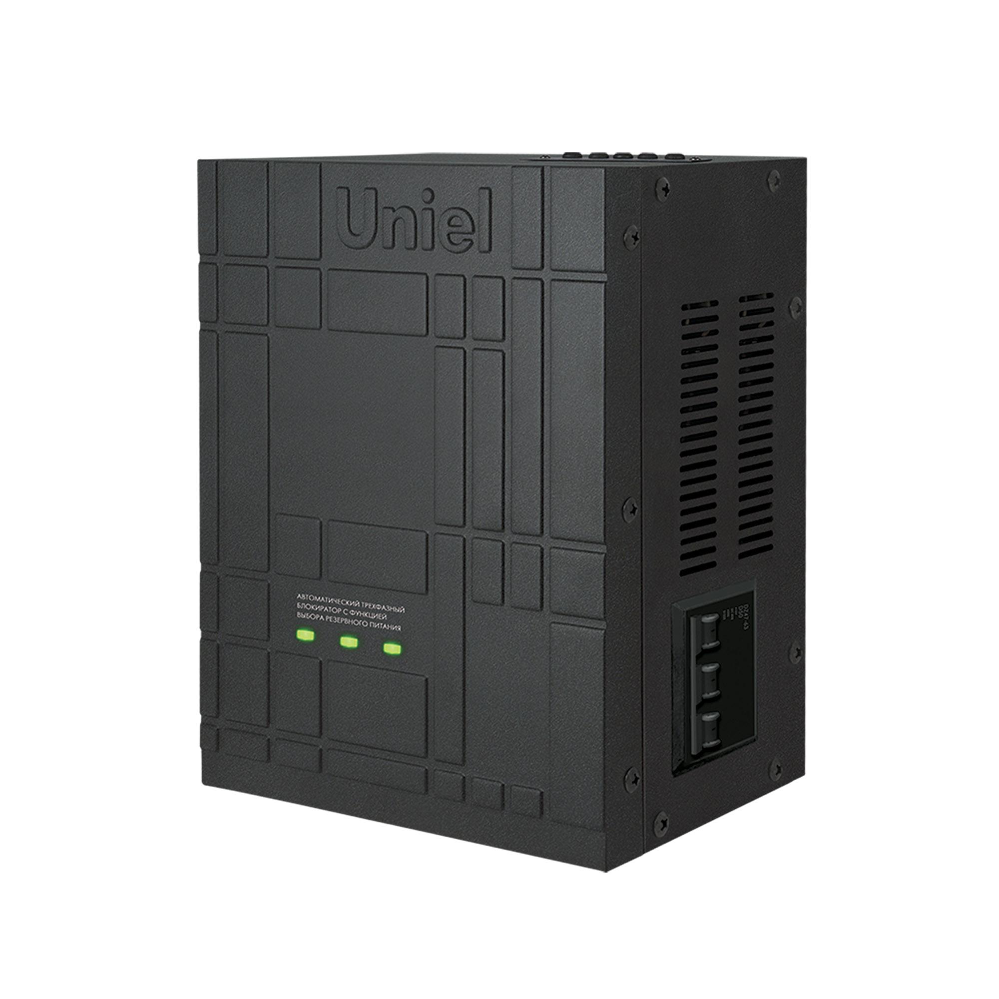 Автоматический трехфазный блокиратор Uniel