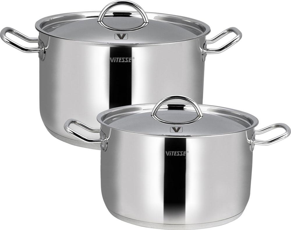 Набор посуды VitesseНаборы посуды<br>Тип: набор посуды, Материал: нержавеющая сталь, Предметов в наборе: 7<br>